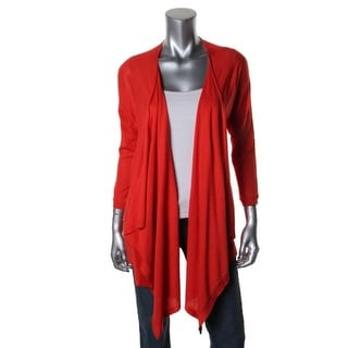 DKNY Womens Silk Open Front Cardigan Sweater - m/l