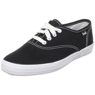 Keds Girls champion cvo Canvas Low Top Lace Up Walking Shoes - 3 1/2m youth