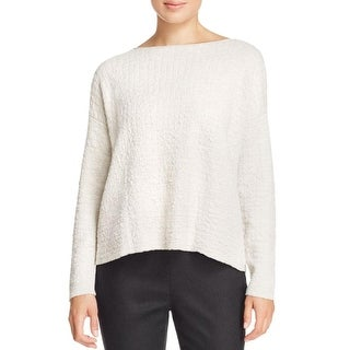 Eileen Fisher Womens Pullover Sweater Knit Textured