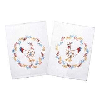 Proud Poultry Chicken Printed Tea Towel Set