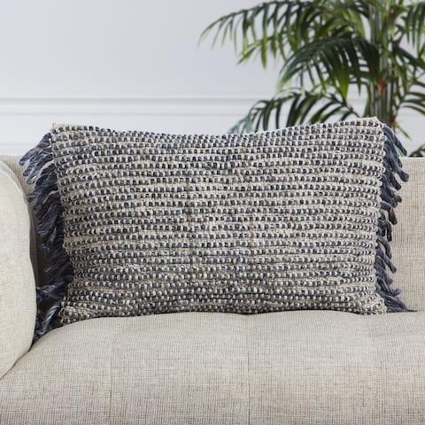 Agnes Textured Lumbar Pillow