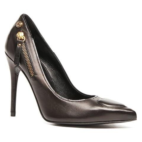 Love Moschino Black Classic Pointed Pump