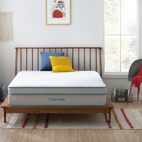 Linenspa Essentials 12-inch Gel Hybrid Mattress