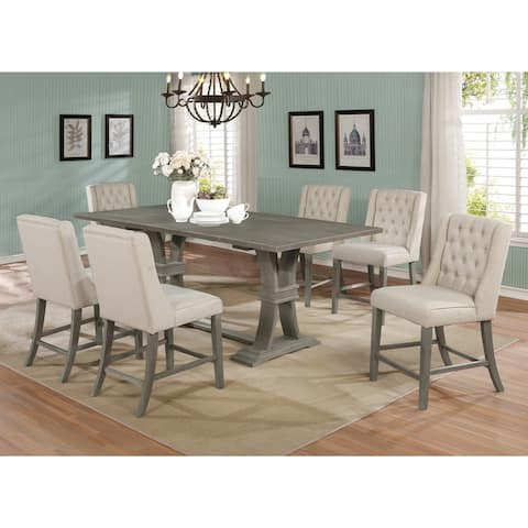 The Gray Barn Chesterfield Extension Counter Height 7-piece Dining Set