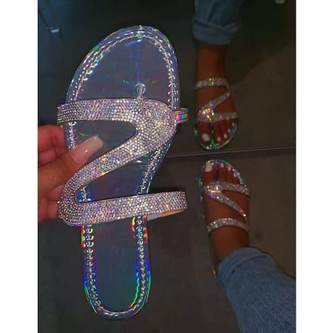 Women's Sandals Crystal Beach Shoes