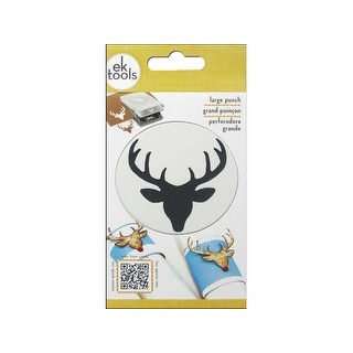 EK Punch Lg Deer Head