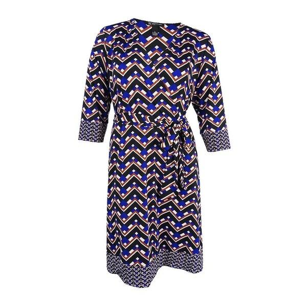 Shop INC International Concepts Women\'s Plus Size Fit & Flare Faux ...