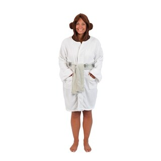 Star Wars Princess Leia Women's Bathrobe OSFM