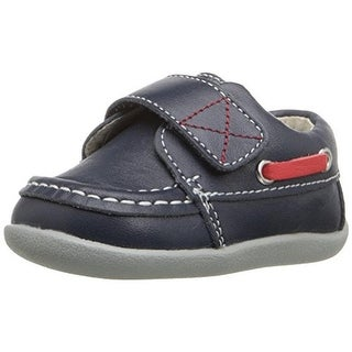 See Kai Run Leather Infant Boat Shoes