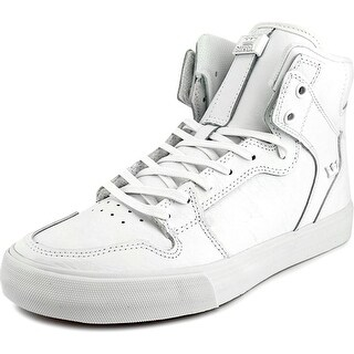 Supra Vaider Men Round Toe Leather Skate Shoe