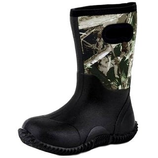 Roper Outdoor Boots Boy Camo Neoprene Rubber Black 09-018-1136-0574 MU