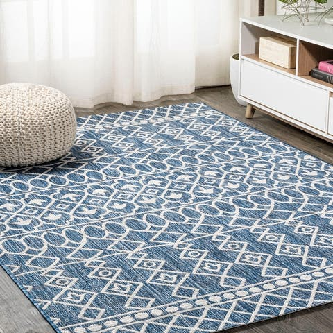 JONATHAN Y Kafel Tribal Bohemian Indoor/Outdoor Area Rug