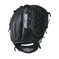 "Louisville Slugger Xeno 12"" Softball Glove (Black/White - Left Hand Throw)"