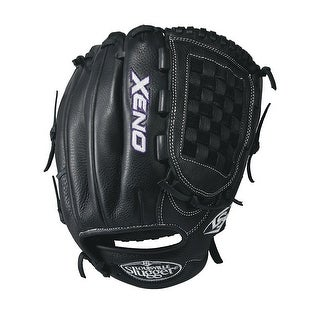 "Louisville Slugger Xeno 12"" Softball Glove (Black/White - Left Hand Throw)"