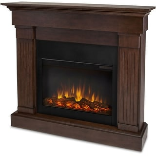 "Real Flame 8020E  48"" Wide Crawford Slim Line Electric Fireplace"