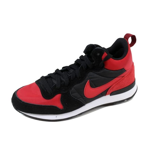 Invertir Máquina de recepción cubo  Shop Nike Men's Internationalist Mid Varsity Red/Black-White 682844-606 -  Overstock - 21141972
