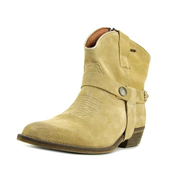 MET Texas Pointed Toe Suede Western Boot