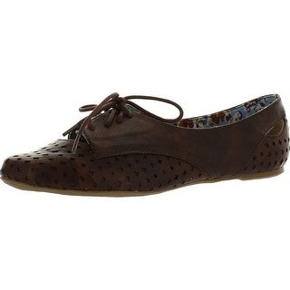 Not Rated Women's High Friend Oxford Flats Shoes