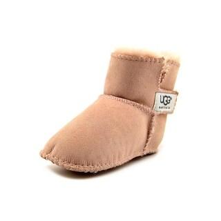 Ugg Australia I Erin Toddler Round Toe Suede Pink Winter Boot