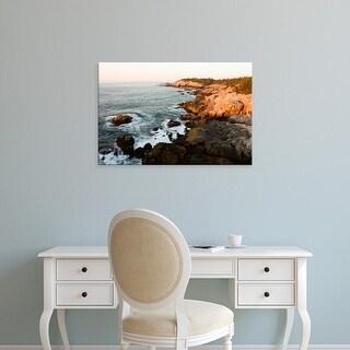 Easy Art Prints Jerry & Marcy Monkman's 'Cliff Trail' Premium Canvas Art