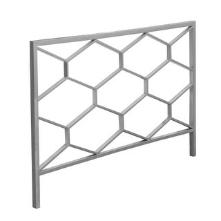 Monarch Specialties I 2626Q 47 Inch Tall Metal Queen/Full Size Headboard or Foot
