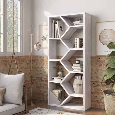 Carson Carrington Hogfors Modern 9-shelf Display Bookcase