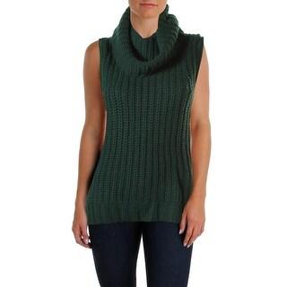 The Lane Womens Tunic Sweater Wool Blend Sleeveless