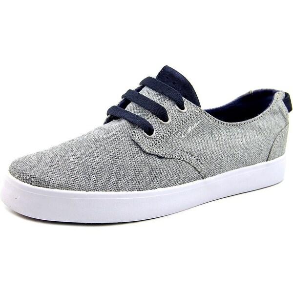 c1rca Harvey Men Round Toe Canvas Gray Sneakers