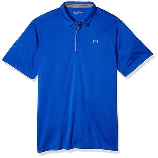 Under Armour Men S Tech Polo Royal Royal 400 Graphite Size XX Large