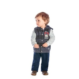 Baby Boy Outfit Hoodie Jacket and Pants 2pc Winter Set Pulla Bulla 3-12 Months