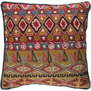 Link to Decorative Ringwood Multi 18-inch Throw Pillow Cover Similar Items in Decorative Accessories