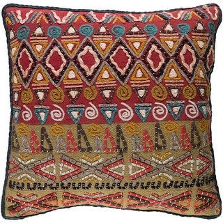 Link to Decorative Ringwood Multi 20-inch Throw Pillow Cover Similar Items in Decorative Accessories