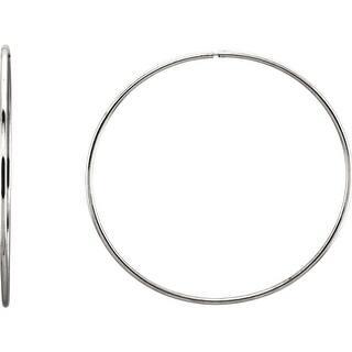 Sterling Silver 1.55mm Sleek Polished Endless Hoop Earrings|https://ak1.ostkcdn.com/images/products/is/images/direct/719a544c0e821462d5786b68102416c635e38c3a/Sterling-Silver-1.55mm-Sleek-Polished-Endless-Hoop-Earrings.jpg?impolicy=medium