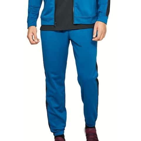 Under Armour Mens Unstoppable Track Pant Teal Blue Size 2XL Loose Jogger