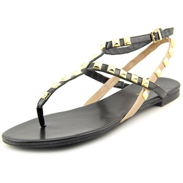 BCBGeneration Glorina-X Women Open Toe Synthetic Black Thong Sandal