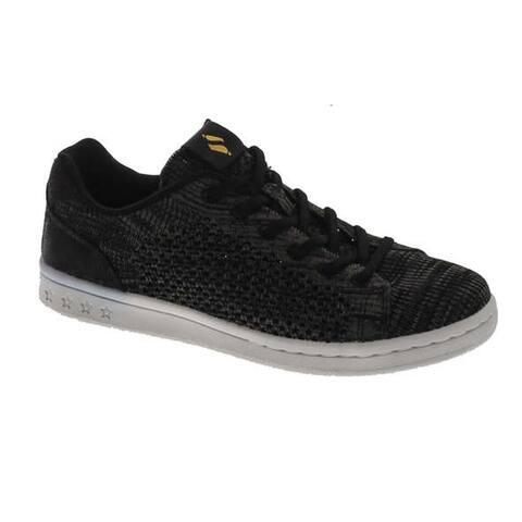Skechers Women's Darma-Engineered Knit Bungee Sneaker - Black
