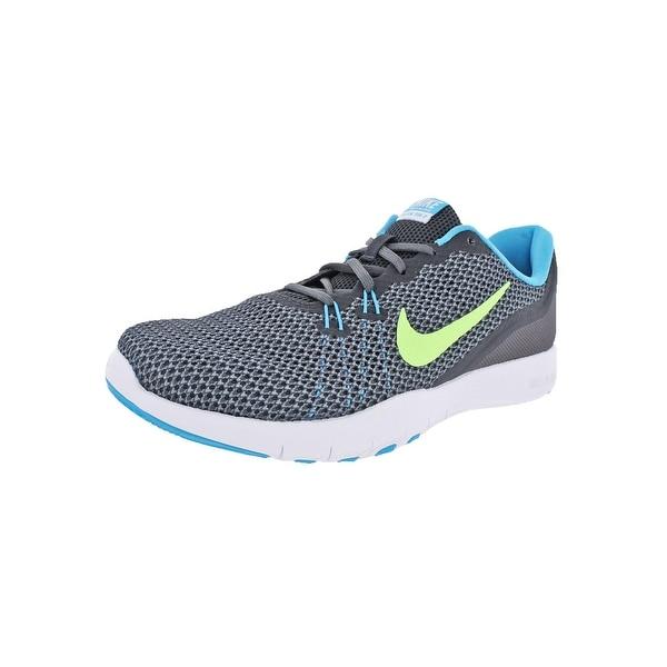Nike Womens Flex Trainer 7 Trainers Mesh Colorblock - 9.5 medium (b,m)