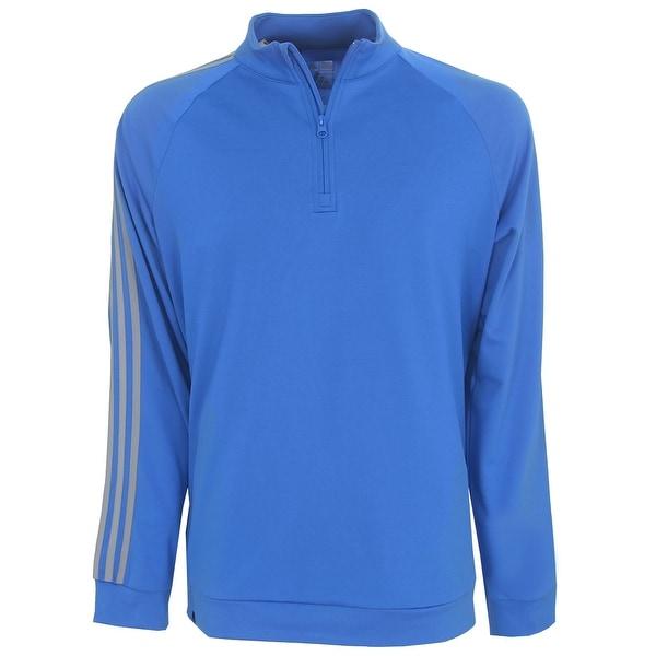 Adidas 3-Stripe Quarter-Zip Layering Top