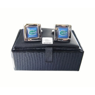 NCAA Florida Gators Square Cufflinks Gift Box Set