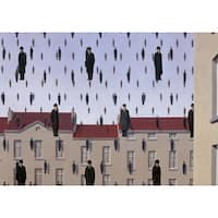 ''Golconde (small)'' by Rene Magritte Museum Art Print (11 x 14 in.)