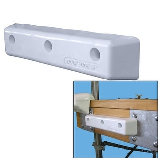 "Dock Edge Protect Straight HD 12"" PVC Dock Bumpers - 1058-F"