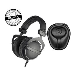Link to Beyerdynamic DT 770 PRO Over-Ear Headphones (Ninja Edition) & Case Similar Items in Headphones