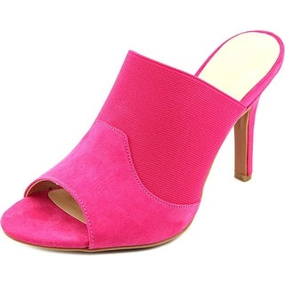 Ann Marino by Bettye Muller Dara Women Open-Toe Synthetic Pink Mules