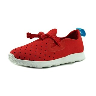 Native Apollo Moc Boy Torch Red/Shell White Athletic Shoes