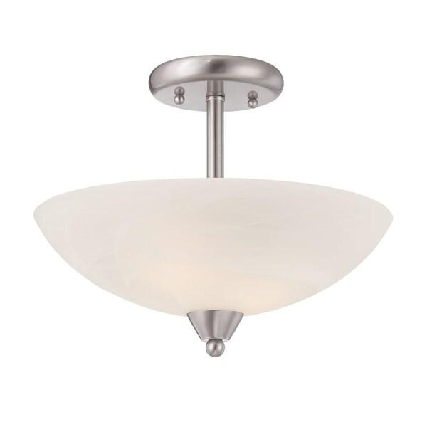 Designers Fountain 15005-SF Torino 1 Light Semi Flush Ceiling Fixtures