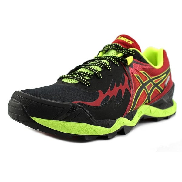 Asics Gel-Fuji Endurance Plasma Guard Men Black/Onyx/Racing Red Running Shoes
