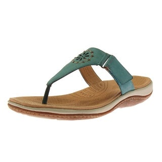 Acorn Womens Vista Beaded Slide Thong Sandals