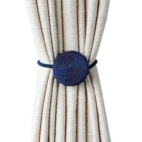 Sidra Macaron Curtain Tieback (Set of 2)