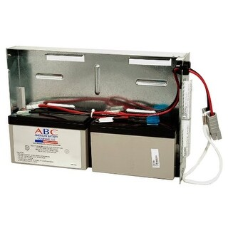 APC 73019B RBC22 Replacement Batterycartridge By American Battery Co