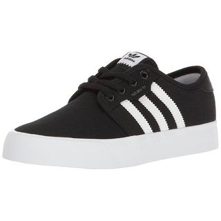 Adidas Boys Seely J Low Top Lace Up Basketball Shoes
